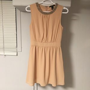 NEW FOREVER21 Women's Peach Dress